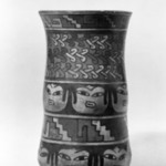 Cylindrical Jar with Rounded Bottom