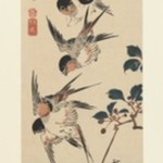 Tanzaku, Four Swallows