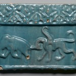 Frieze Tile with Animals