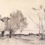 Willows and White Poplars (Saules et peupliers blancs)