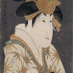 Segawa Kikunojo III as Oshizu, Wife of Tanabe Bunzo
