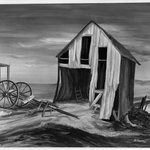 Windswept Barn