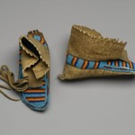 Pair of Childs Moccasins
