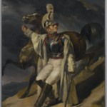 The Wounded Cuirassier, study (Le Cuirassier bless&eacute; quittant le feu, esquisse)