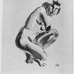Nude, Half Kneeling