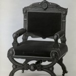 Side chair (one of a set of four) Neo-Grec style