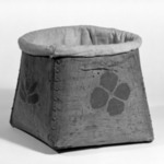 Bucket with Cloth Top
