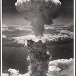 Nagasaki, Japan, under Atomic Bomb Attack
