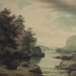View on the Potomac Looking towards Harpers Ferry
