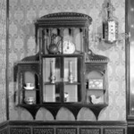 Hanging Wall Cabinet, One of Pair