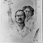 Self-Portrait with Wife (Selbstbildnis mit Gattin)