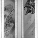The God of Wind, One of Pair of Scrolls Depicting The God of Wind Chased by An Eagle