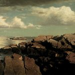 After a Shower -- Nahant, Massachusetts
