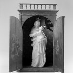 Shrine for Statue of Madonna and Child