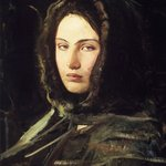 Girl in Fur Hood  (Head of a  Woman with Fur-Lined hood)