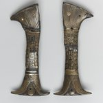 Two Halves of Handle of a Votive Knife