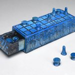 Gaming Board Inscribed for Amenhotep III with Separate Sliding Drawer