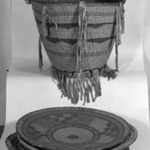 Basket with Geometric Designs