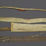 Bow, Bow Case, Arrows and Quiver