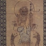 Painting of Shomen - Kongo