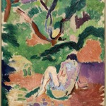 Nude in a Wood (Nu dans la for&ecirc;t; Nu assis dans le bois)