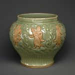 Wine Jar with Eight Immortals