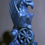 Statuette of Nemesis in Form of Female Griffin with Wings
