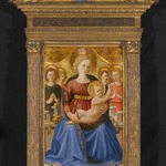 Virgin and Child with Four Angels and the Redeemer