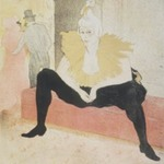 Seated Clowness (La Clownesse assise)