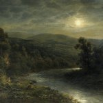 Moonlight on the Delaware River