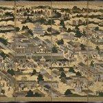 Views In and Around Kyoto (Rakuchu rakugai zu)