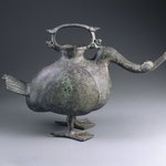 Wine Vessel (Zun) in the Form of a Goose