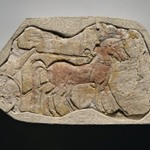 A Span of Two Horses Pulling a Chariot
