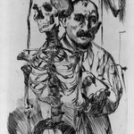 The Artist and Death II (Der K&uuml;nstler und der Tod II)