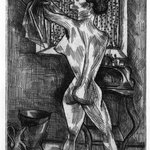 Woman at Morning Ablutions