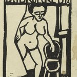 Title Page Woodcut for the Annual Report 1911-1912 of the Artists Group &quot;Br&uuml;cke&quot; (Titelholzschnitt zum Jahresbericht 1911-1912 der K&uuml;nstlergruppe &quot;Br&uuml;cke&quot;)