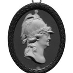 Oval Portrait Medallion