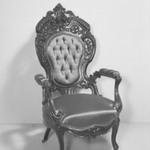 Armchair (Rococo Revival style)