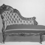 Chaise Longue (Rococo Revival style)
