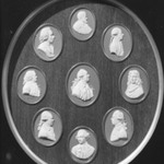 Portrait Medallion of Galilei Galileo