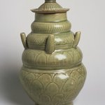 Covered Funeral Vase