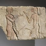 Relief of Men Talking