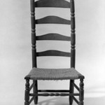 Slat-Back Low Chair