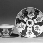 Cup (or Tea Bowl) and Saucer