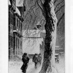 Winter on White St. Danbury