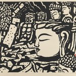 Stone Buddha at Usuki
