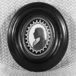 Silhouette; Bust of Man Facing Left