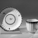 Coffee Cups and Saucers, One of Set