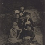 [Untitled]  (Five Women, One Standing)