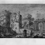 Landscape with Gate and Tower